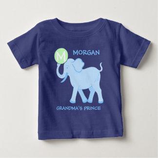 Blue Circus | Baby Boy Letter Grandmas Prince Baby T-Shirt