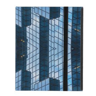 Blue City Abstract iPad Case