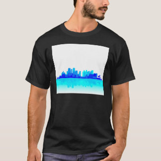 Blue City Reflections T-Shirt