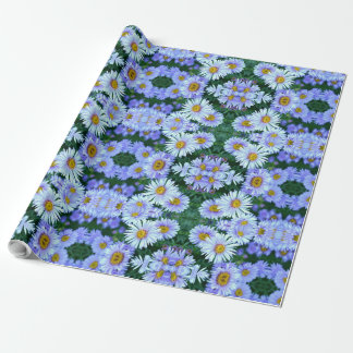 Blue Claire Wrapping Paper