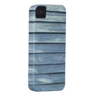 Blue Clapboard iPhone 4 Case-Mate Case