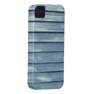 Blue Clapboard iPhone 4 Cases