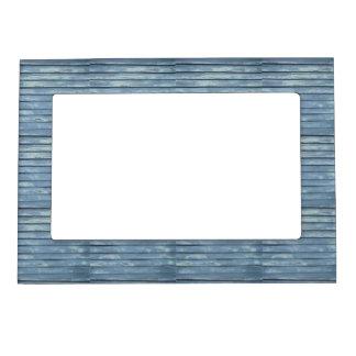 Blue Clapboard Magnetic Frame