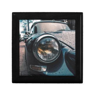 Blue Classic Car Gift Box