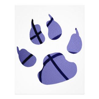 Blue Claw 21.5 Cm X 28 Cm Flyer