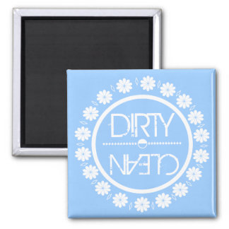 Blue Clean Dirty Dish Washer Magnet