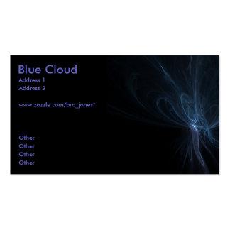 Blue Cloud Business Card Template