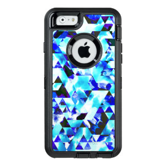 Blue Cloud Watercolor Geometric Tribal Aztec OtterBox iPhone 6/6s Case