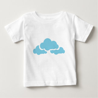 Blue Clouds Baby T-Shirt