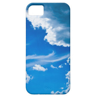 Blue Clouds iPhone 5 Barely There Universal Case