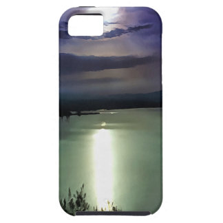 Blue Coastal Sunset iPhone 5 Case