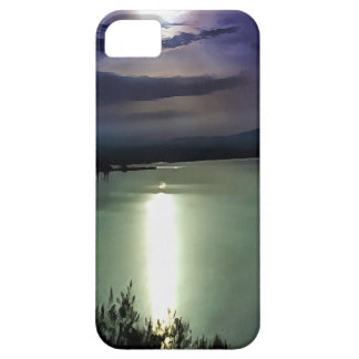 Blue Coastal Sunset iPhone 5 Cover
