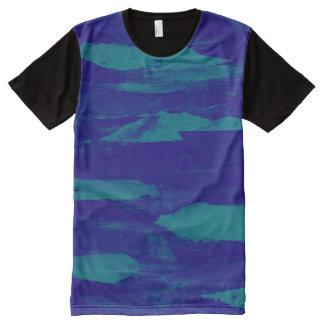 Blue Coasting All-Over Print T-Shirt