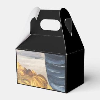 Blue Coffee Mug & Beans Favour Box