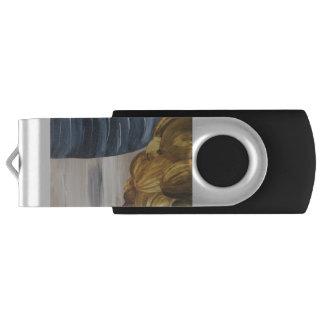 Blue Coffee Mug & Beans USB Flash Drive