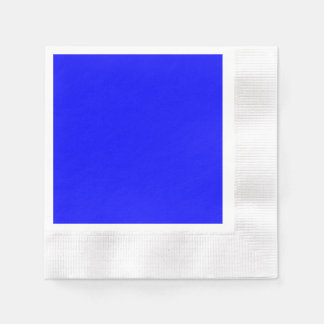 Blue Coined Cocktail Paper Napkin