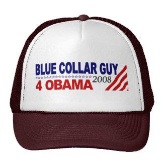 Blue Collar Guy 4 Obama Hat