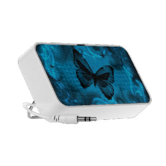 blue colorful butterfly vector art travel speakers