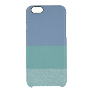 Blue Colors Glitter Pattern  Clearly™ iPhone Case