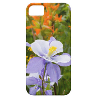 Blue Columbine Barely There iPhone 5 Case