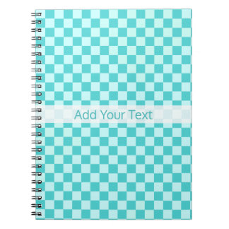 Blue Combination Classic Checkerboard by STaylor Notebooks
