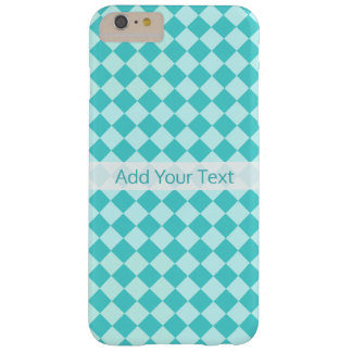 Blue Combination Diamond Pattern by Shirley Taylor Barely There iPhone 6 Plus Case