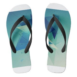 Blue Comfort Thongs