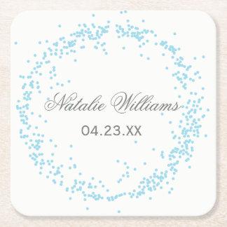 Blue Confetti - Custom Coaster