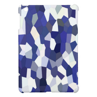 BLUE CONFETTI iPad MINI COVER