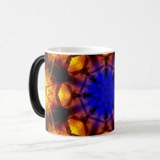 Blue Core Mandala Magic Mug