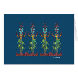 Blue Corn People, Image 1a, Card