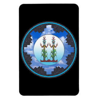 Blue Corn People, Navajo Mythology Magnet