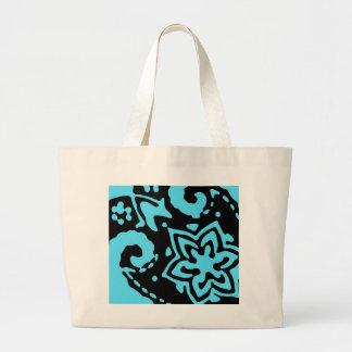 Blue cornucopia Bag Jumbo Tote Bag