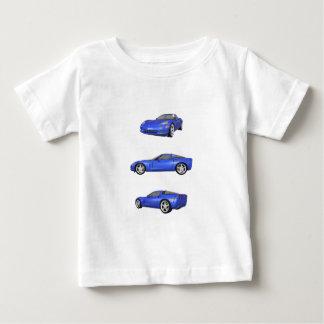 Blue Corvette: Baby T-Shirt