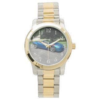 Blue corvette for Edna Wristwatch