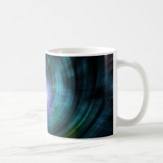 Blue Cosmic Twirl Mug