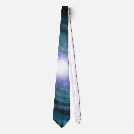 Blue Cosmic Twirl Tie