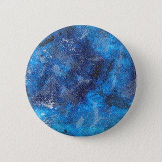 Blue Cosmos #1 6 Cm Round Badge