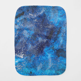 Blue Cosmos #1 Burp Cloth