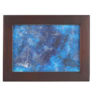 Blue Cosmos #1 Keepsake Box