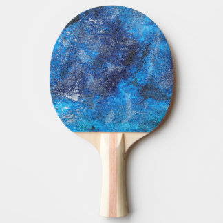 Blue Cosmos #1 Ping Pong Paddle