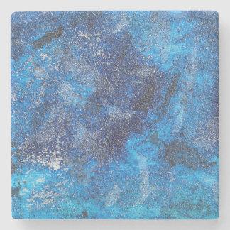 Blue Cosmos #1 Stone Coaster