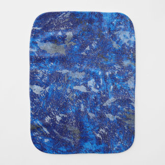 Blue Cosmos #2 Burp Cloth