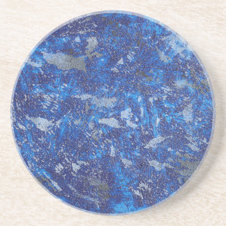 Blue Cosmos #2 Coaster
