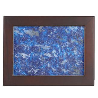 Blue Cosmos #2 Keepsake Box
