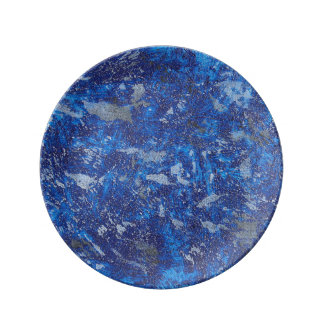 Blue Cosmos #2 Plate