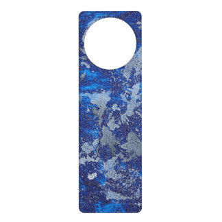 Blue Cosmos #3 Door Hanger