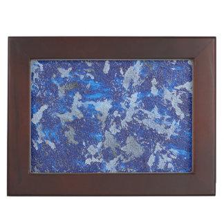 Blue Cosmos #3 Keepsake Box