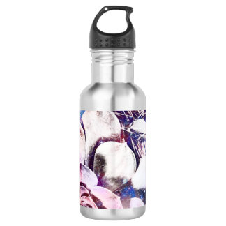 Blue cosmos water bottle