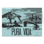 Blue Costa Rica Pura Vida Surfer